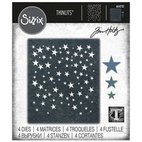 Sizzix - Thinlits Dies By Tim Holtz, Stanssisetti, Falling Stars
