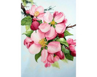 Collection D'Art - Apple Blossom( K)(N), Timanttimaalaus, 27x38cm
