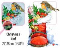 Collection D'Art - Christmas Bird (K)(N), Timanttimaalaus, 27x38cm