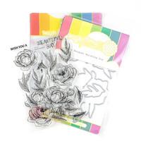 Waffle Flower - Peony Bouquet, Leima- ja stanssisetti