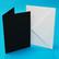 Craft UK - Korttipohja, musta, A6, 50kpl, sis.kirjekuoret