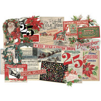 Tim Holtz - Idea-Ology Layers, Christmas, 31kpl