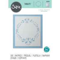 Sizzix - Thinlits Dies By Lisa Jones, Stanssi, Cut-Out Wreath