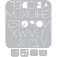Sizzix - Thinlits Dies By Lisa Jones, Stanssisetti, Decorative Type