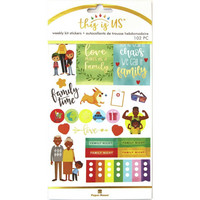 Paper House - This Is Us Weekly Planner Sticker Kit, Family Life, Tarrasetti