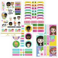 Paper House - This Is Us Weekly Planner Sticker Kit, Family Is Love, Tarrasetti