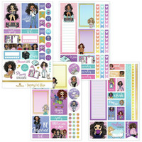 Paper House - This Is Us Weekly Planner Sticker Kit, Planner Girl, Tarrasetti
