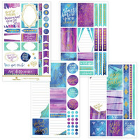 Paper House - This Is Us Weekly Planner Sticker Kit, Empowerment, Tarrasetti