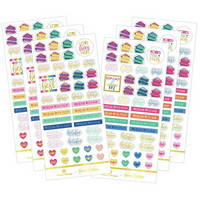 Paper House - This Is Us Functional Sticker Set, Co-Parenting, Tarrasetti