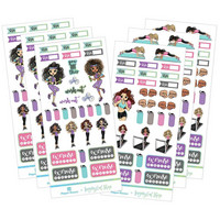 Paper House - This Is Us Functional Sticker Set, Fitness, Tarrasetti