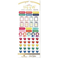 Paper House - This Is Us Functional Sticker Set, Bright Self Care, Tarrasetti
