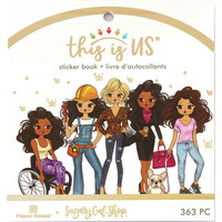 Paper House - This Is Us Mini Sticker Book, Planner Girl, Tarrasetti