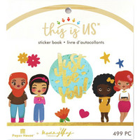 Paper House - This Is Us Mini Sticker Book, Just Be You, Tarrasetti