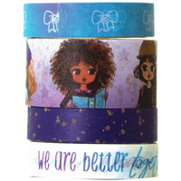 Paper House - This Is Us Washi Tape, Planner Girl, 4 rullaa