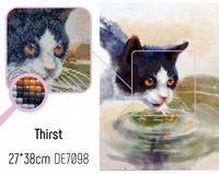 Collection D'Art - Thirst ( K)(N), Timanttimaalaus, 27x38cm