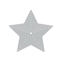 Hero Arts - 5-Point Stars, Stanssisetti