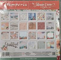 Stamperia - Gratitude, Maxi Paper Pack 12