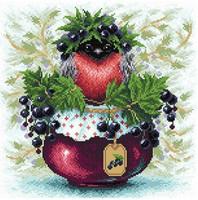 BrilliArt - Currant Berries (K)(N), Timanttimaalaus, 38x38cm