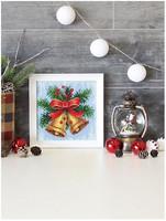 BrilliArt - Christmas Melody (K)(N), Timanttimaalaus, 20x20cm