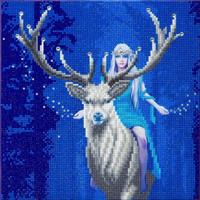 Craft Buddy - Fantasy Forest (O)(P), Timanttimaalaus, 30x30cm