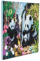 Craft Buddy - Panda Valley (K)(P), Timanttimaalaus, 50x40cm