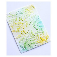Memory Box - 3D Embossing Folder, Gracious Leaves