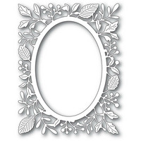 Poppy Stamps - Adriana Oval Frame, Stanssi