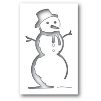 Memory Box - Charming Snowman Collage, Stanssi