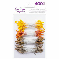 Crafter's Companion - Flower Stamens, Autumn Hues, 400 kpl