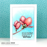 Create A Smile - Magnolia, Leimasetti