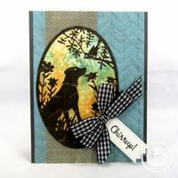 Impression Obsession - Dog & Bird Frame, Stanssisetti