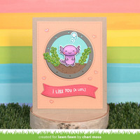 Lawn Fawn - I Like You (a lotl), Leimasetti