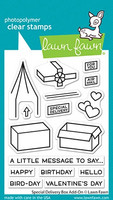 Lawn Fawn - Special Delivery Box Add-on, Leimasetti