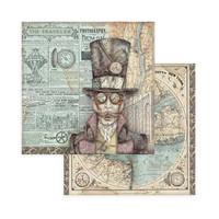 Stamperia - Sir Vagabond, Paper Pack 8