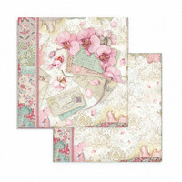 Stamperia - Orchids and Cats, Paper Pack 8