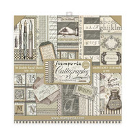 Stamperia - Calligraphy, Paper Pack 8