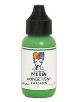Dina Wakley Media - Acrylic Paint, Evergreen, 29ml
