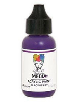 Dina Wakley Media - Acrylic Paint, Blackberry, 29ml