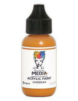 Dina Wakley Media - Acrylic Paint, Cheddar, 29ml