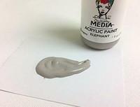 Dina Wakley Media - Acrylic Paint, Elephant, 29ml