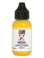 Dina Wakley Media - Acrylic Paint, Lemon, 29ml