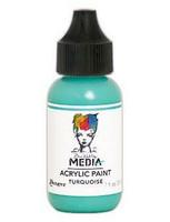 Dina Wakley Media - Acrylic Paint, Turquoise, 29ml