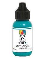 Dina Wakley Media - Acrylic Paint, Peacock, 29ml