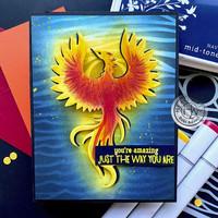 Hero Arts - Phoenix Bird, Stanssi