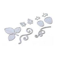 Elizabeth Craft Design - Strawberries, Stanssisetti