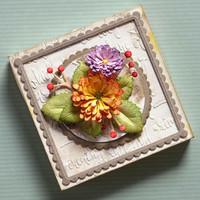 Elizabeth Craft Design - Stamen Flowers, Stanssisetti