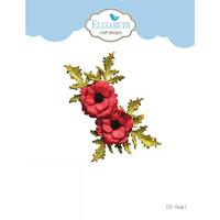Elizabeth Craft Design - Florals 1, Stanssisetti