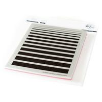 Pinkfresh Studio - Cling Rubber Stamp, Color Block: Gradiating Stripes, Leimasetti