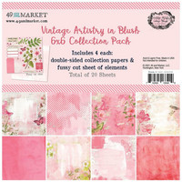 49 And Market - Vintage Artistry Blush, Collection Pack 6