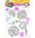 Studio Light - Art By Marlene, Marlene's World, Nr.14 Doodle Up, Stanssisetti